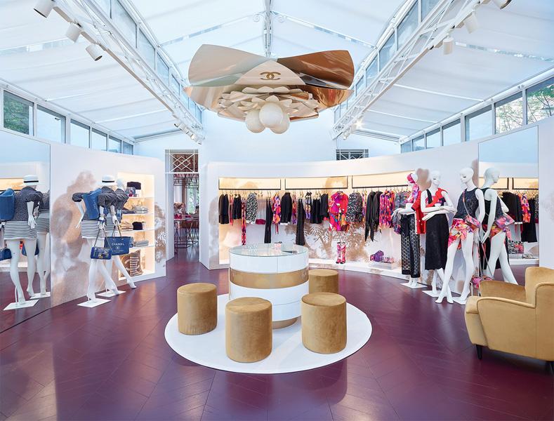 Loja da Chanel em Saint-Tropez