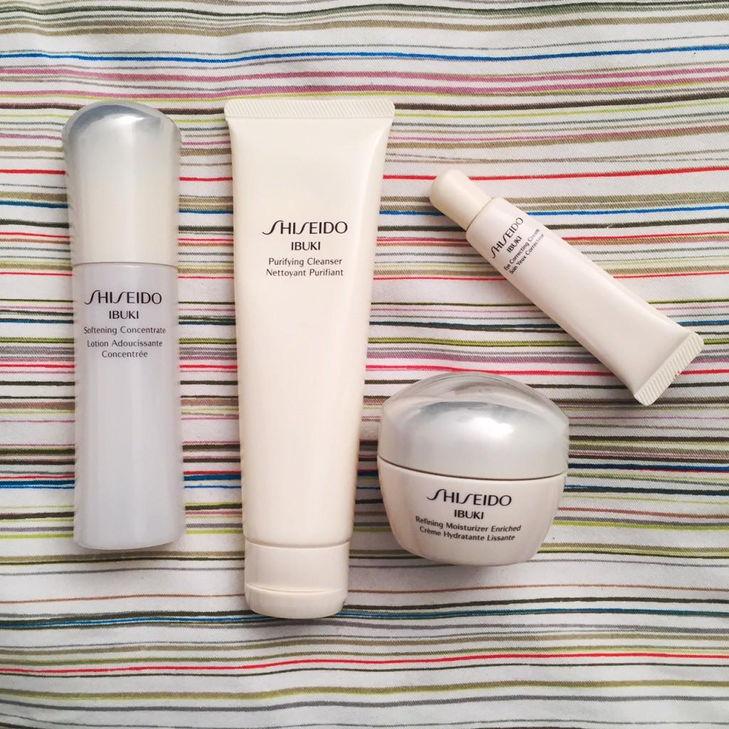 shiseido-ibuki-soin-visage-avec-hannah
