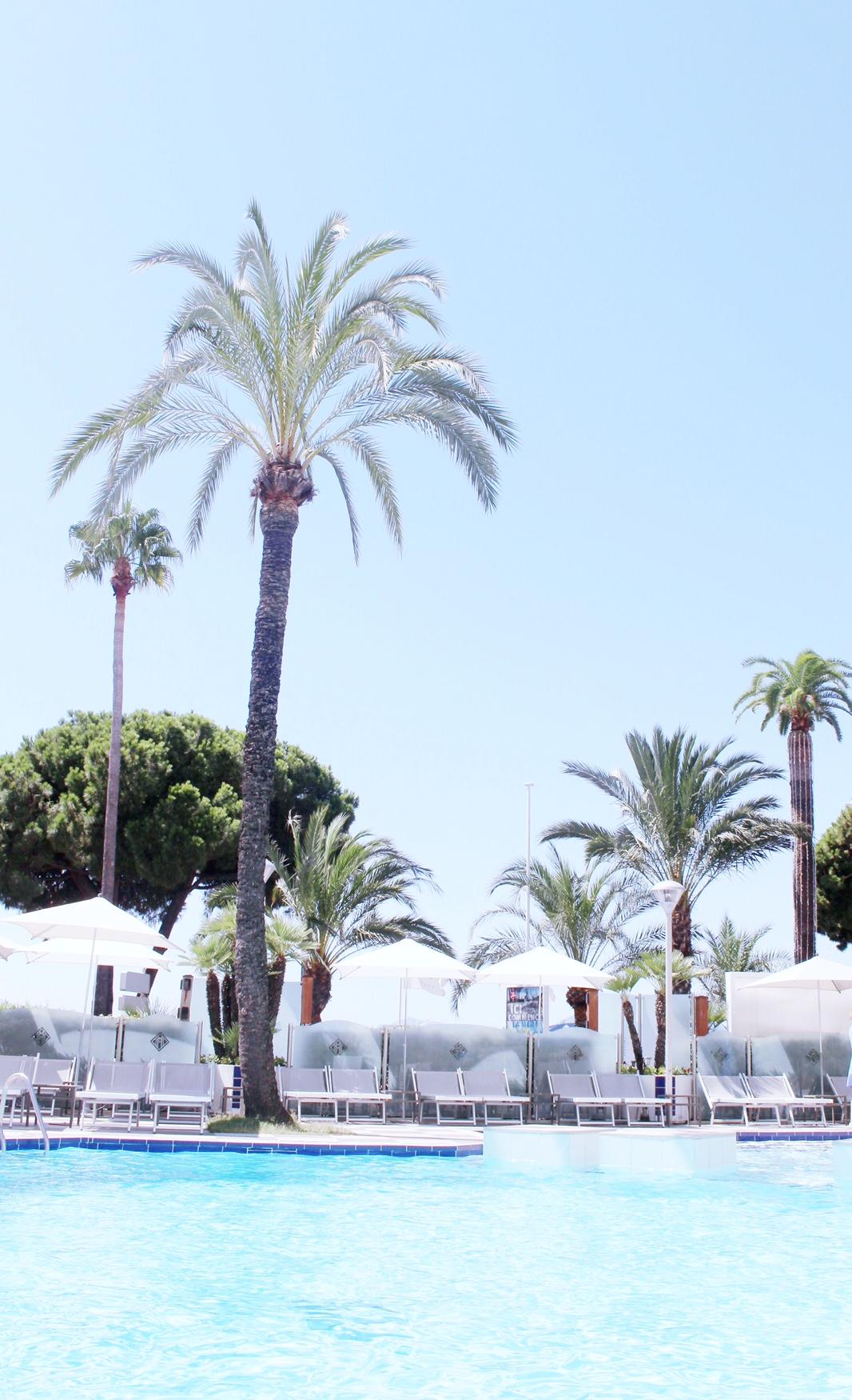 Eurotrip day1 ma journ e cannes au grand hyatt h tel for Journee piscine